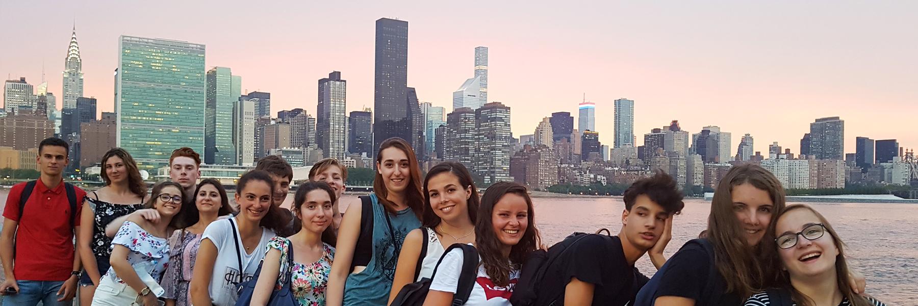 Anglais à New York