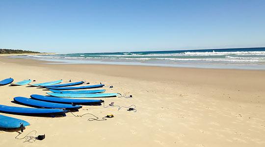 Australie - Australie : Anglais & Surf - Séjour Linguistique en hébergement collectif (Collège, Campus,...)