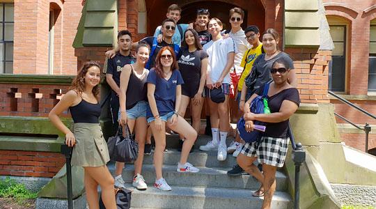 Etats-Unis - Anglais à Boston - Séjour Linguistique en hébergement collectif (Collège, Campus,...)