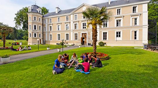 France - L'anglais au château - Séjour Linguistique en hébergement collectif (Collège, Campus,...)