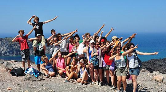 Ath nes et santorin jeunes ou ados de 12 17 ans gr ce for Santorin sejour complet