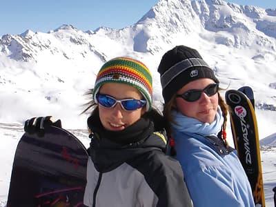Neige, ski, snowboard